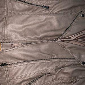 American rag leather jacket